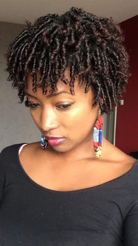 how to comb twist very short natural african american hair 40 short natural hairstyles for black women
