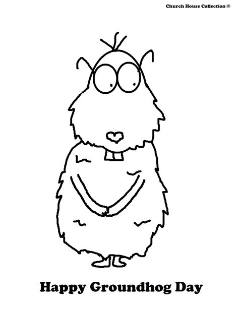 groundhog day house groundhog day coloring pages