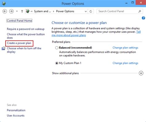 create a plan how to create a power plan in windows 10