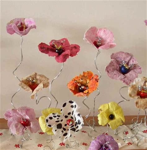 Handcrafted Flowers - handmade flowers from paper