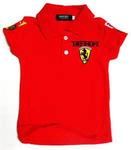 mybabykidzwear gallery ferrari shirt