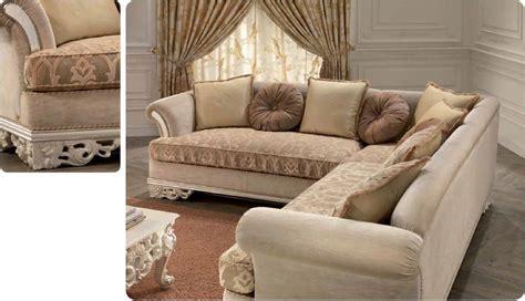 divano angolare classico divano angolare per salotto classico di lusso intagliato