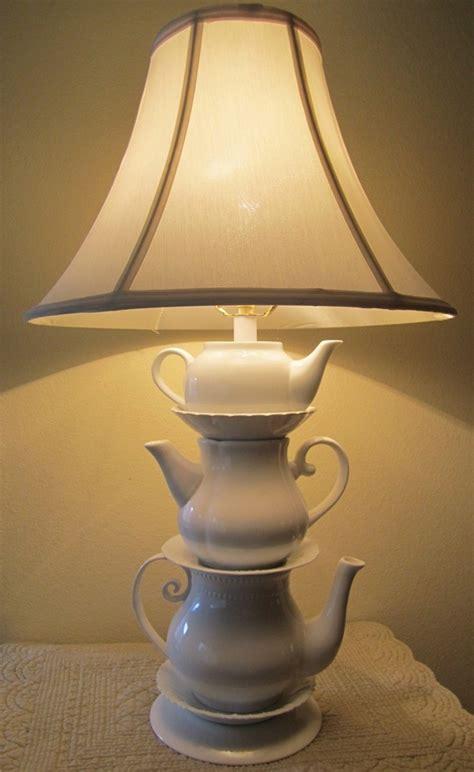 surprising diy teapot lamp inspired  alice  wonderland