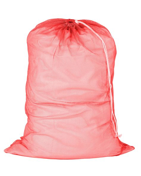Mesh Laundry Bag 24 X 36 Red Mesh Laundry