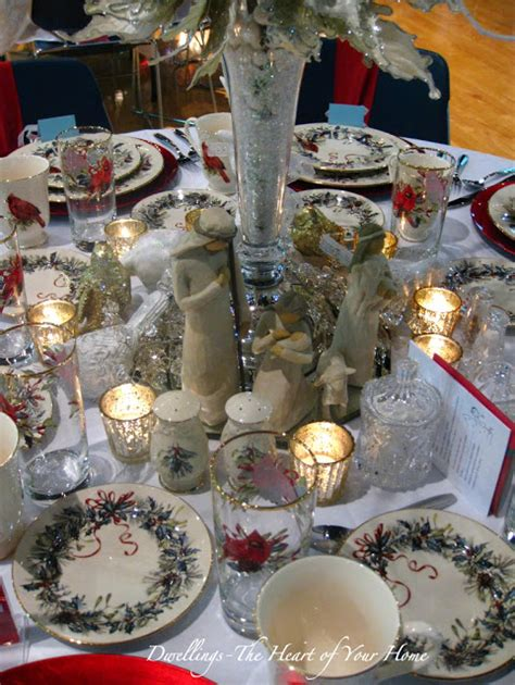 christmas tea festival of tables dwellings the heart of