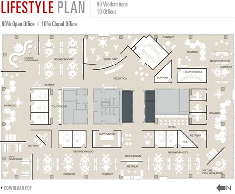Design Layout Of Office Pdf | 40 best images about plan office layout on pinterest