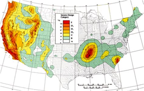 seismic zone map california seismic zones for pallet rack specification