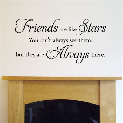 Cheap Bathroom Decorating Ideas friends are like stars quote wall sticker h549k