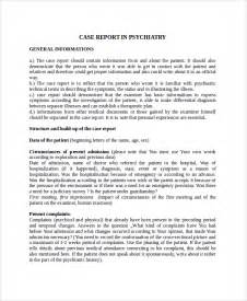 psychiatrist report template sle report template 8 free documents
