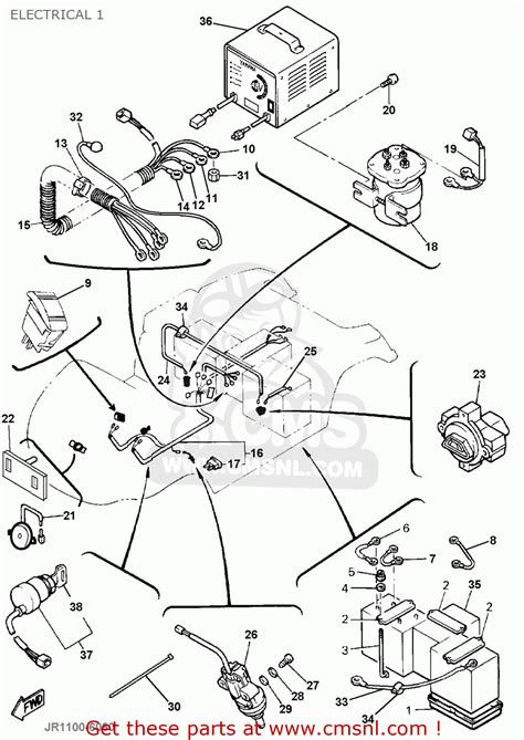 yamaha g19 golf cart wiring diagram yamaha free engine