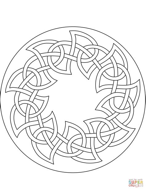 celtic coloring pages celtic pattern coloring page free printable coloring pages
