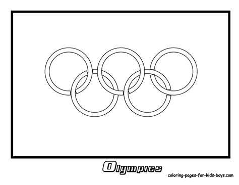 olympic rings coloring page az coloring pages