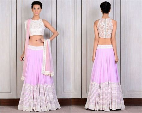 boat neck lehenga latest blouse designs for lehenga tips and fashion beauty