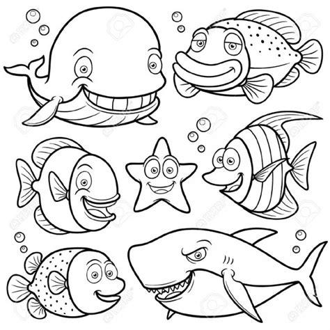 imagenes animales para pintar dibujos de animales marinos para pintar colorear im 225 genes