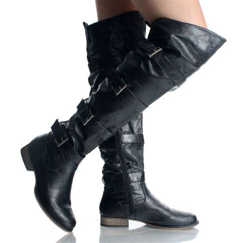 thigh high motorcycle boots boot 2017