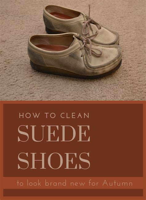 clean suede shoes   brand   autumn
