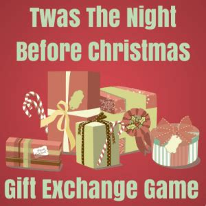 12 days of christmas gift swapping game