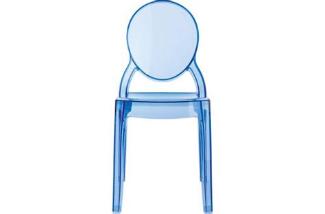 Chaise Elizabeth Transparente by Chaise Baby Elizabeth Bleu Transparent Chaise Et