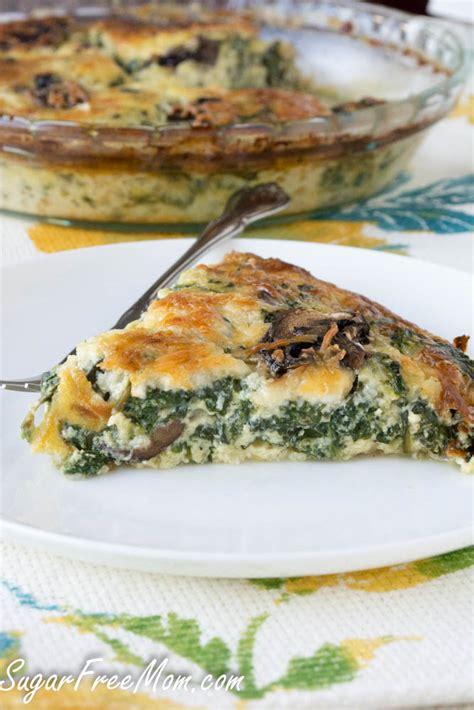spinach quiche with cottage cheese crustless spinach pie