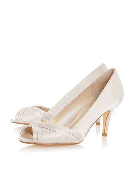 house of fraser linea shoes linea donella peep toe court shoes chagne house of fraser