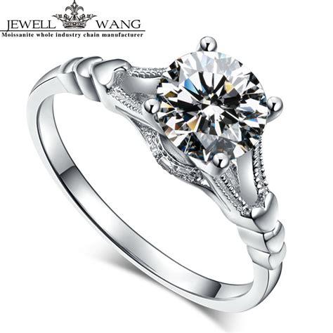 get cheap moissanite engagement ring aliexpress