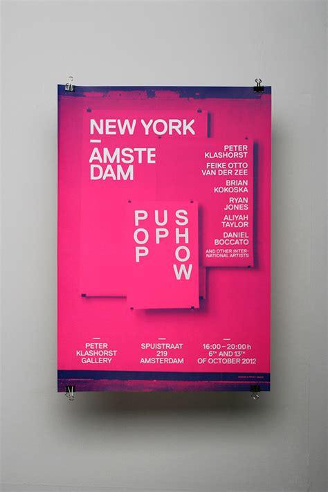pop gallery new york new york amsterdam pop up show on behance