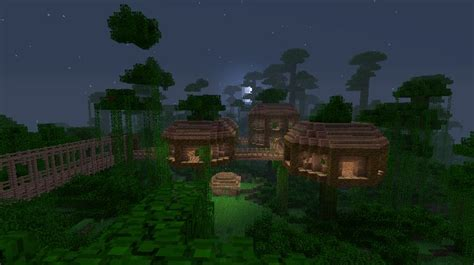 minecraft jungle house designs jungle treehouse complex map download survival mode minecraft discussion