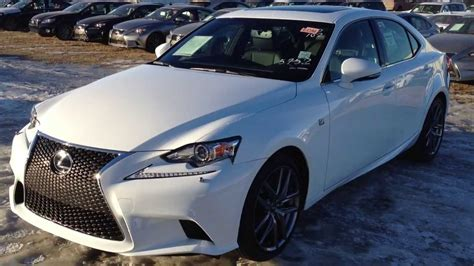 lexus 2014 white 2014 lexus is 250 awd premium f sport package in ultra