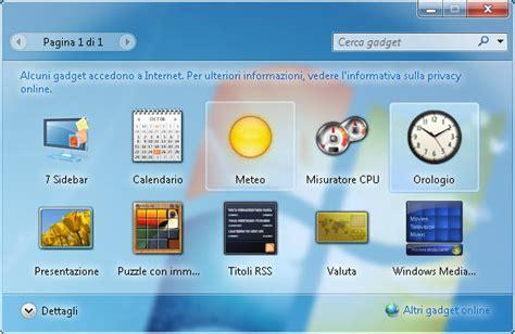 gadget de bureau windows 7 7 sidebar gadget t 233 l 233 charger