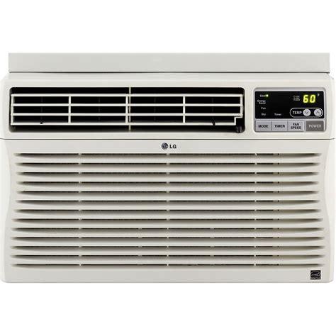 12000 Btu Air Conditioner Room Size Lg 12 000 Btu Window Mounted Air Conditioner With Remote