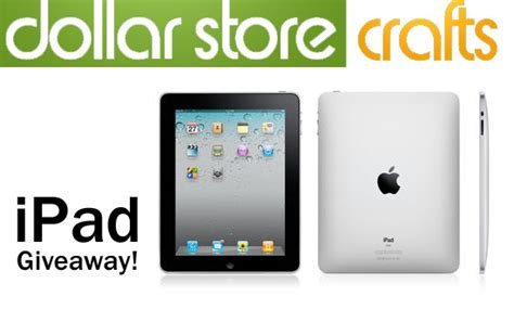 Ipad 2 Giveaway - expired giveaway pinterested in winning an ipad dollar store crafts