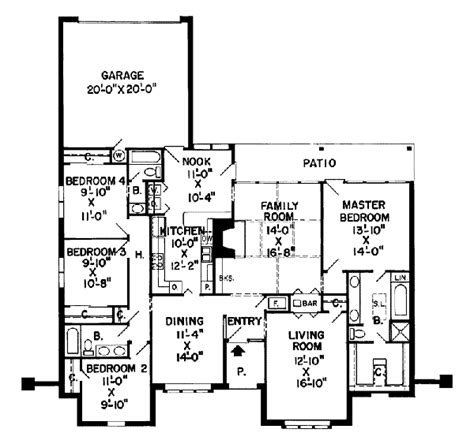rossmoor floor plans rossmoor ranch home plan 038d 0164 house plans and more