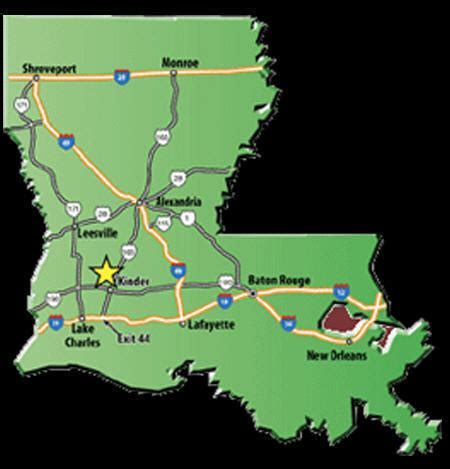 texas casino map louisiana indian casino directory