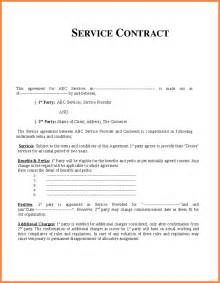 Free Service Agreement Contract Template by Service Agreement Contract Sales Report Template