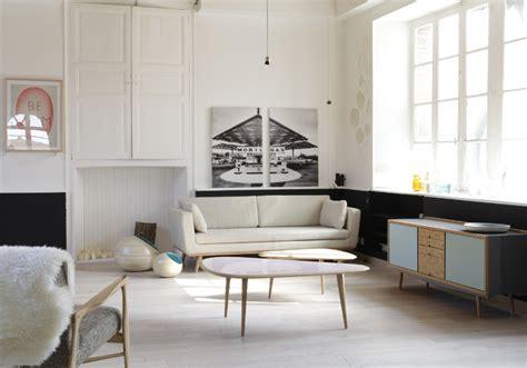 Deco Noir Blanc by Le Noir Blanc S Invite Au Salon D 233 Coration