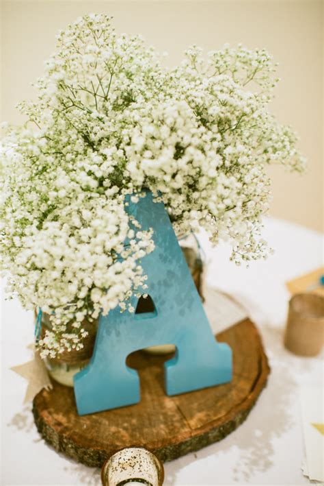 rustic baby shower centerpieces wish upon a rustic baby shower project nursery