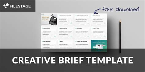 design brief ppt the ultimate creative brief template filestage blog