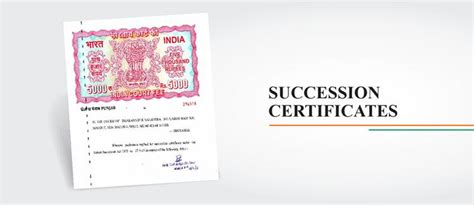 Succession Certificate Letter Administration all that an nri need to to change 500 and 1000 rupee notes
