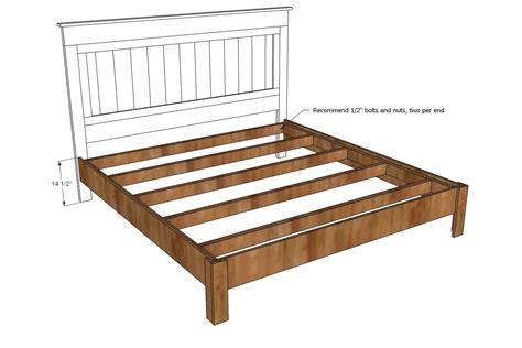 Diy Wooden Bed Frame King