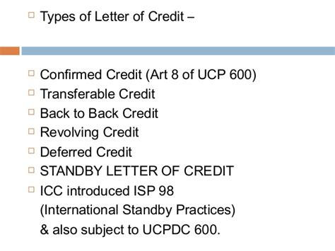 Standby Letter Of Credit Format Icc 600 finance banking 28 07 13