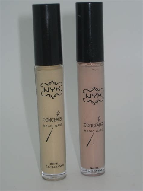 Concealer Wand Glow nyx professional makeup concealer wand swatches mugeek