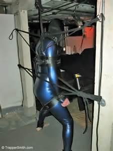 Leather bondage web trappersmith com