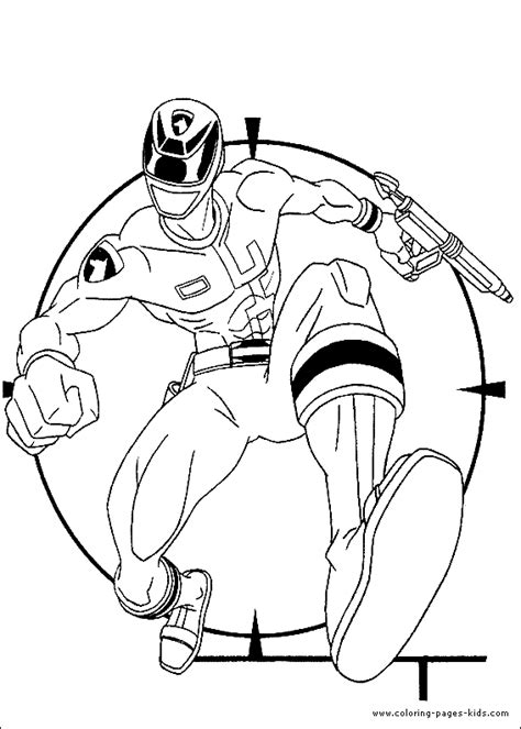 free coloring pages of power rangers galaxy