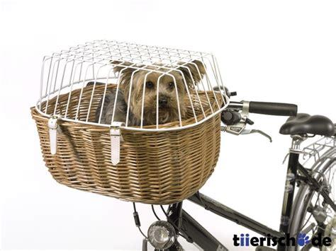 Hundekorb F Rs Auto by Hunde Fahrradkorb F 252 R Lenker Mit Gitter Aum 252 Ller