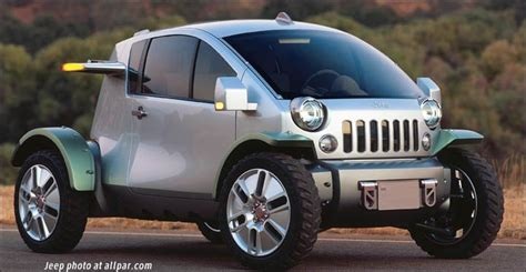 Jeep Concept Car Jeep Treo Concept Car Dang That S Light The 2004