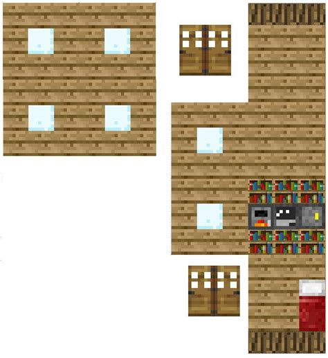 How To Make Paper Minecraft Stuff - papercraft house valentines papercraft