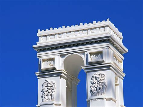 architecture model galleries famous architecture buildings the arc de triomphe model paper model of the arc de