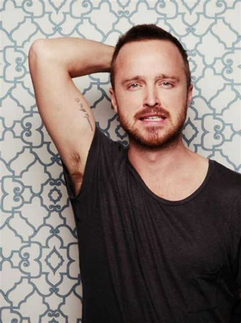 aaron paul tattoos aaron paul pinkman breaking bad no half measures