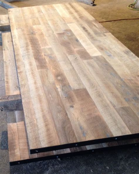 reclaimed wood conference table tops unfinished wire