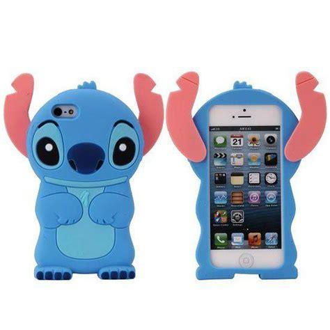 Stitch F0227 Iphone 5 5s bol lilo stitch siliconen hoesje iphone 5 5s